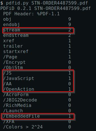 Pdf stream javascript