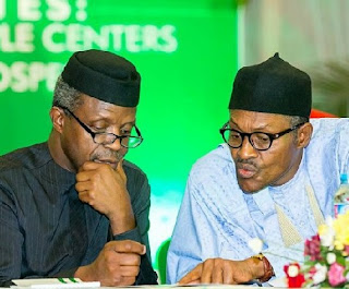 BUHARI AND VP OSINBAJO