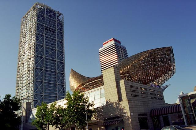 El Centre de la Vila-Port Olímpic em Barcelona