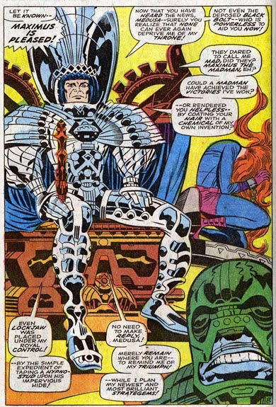 Fantastic Four 82-Maximus- MarkofMadman