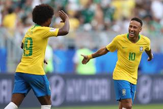 Rusia 2018: Brasil-Mexico octavos de final:
