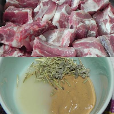 como fazer costelinha de porco receita