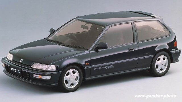 1990-1991 Honda Civic SiR II EF