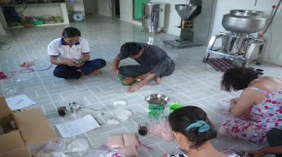 Công nghệ làm giò bằng máy xay giò chả ngon nhất tại Việt Nam