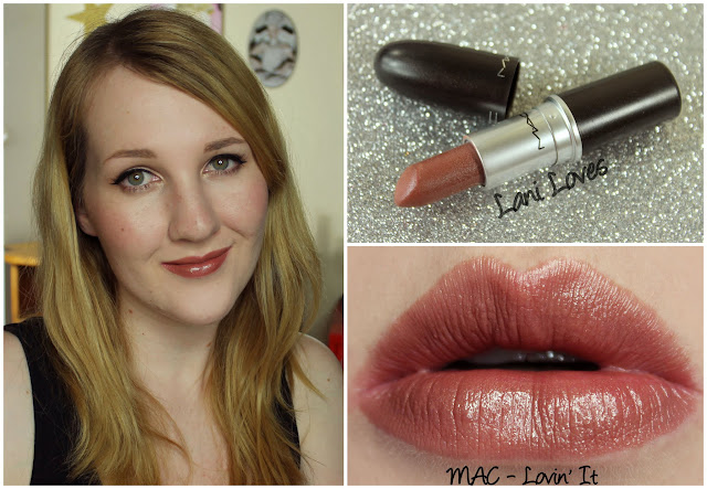 MAC Lovin' It lipstick swatch
