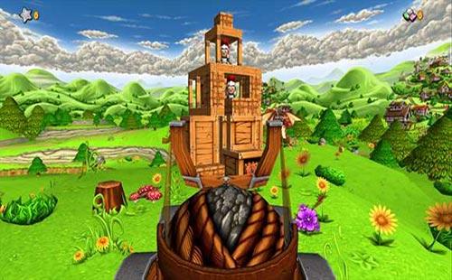 لعبة المنجنيق والجنود Catapult King للموبايل اندرويد - ايفون