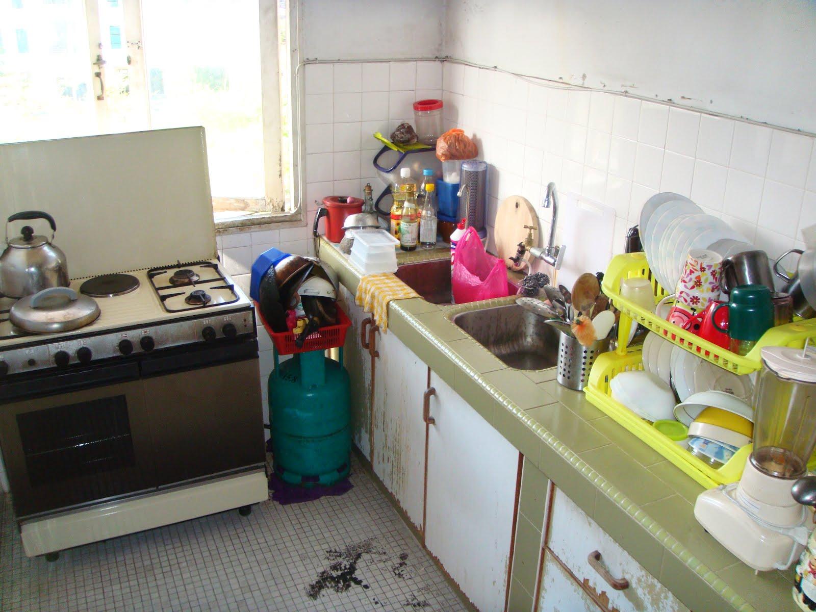 Zaldeco Kabinet Dapur Di Setiasa Kecil Design