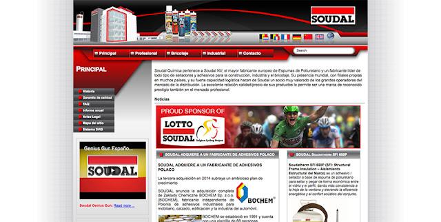 Soudal página web