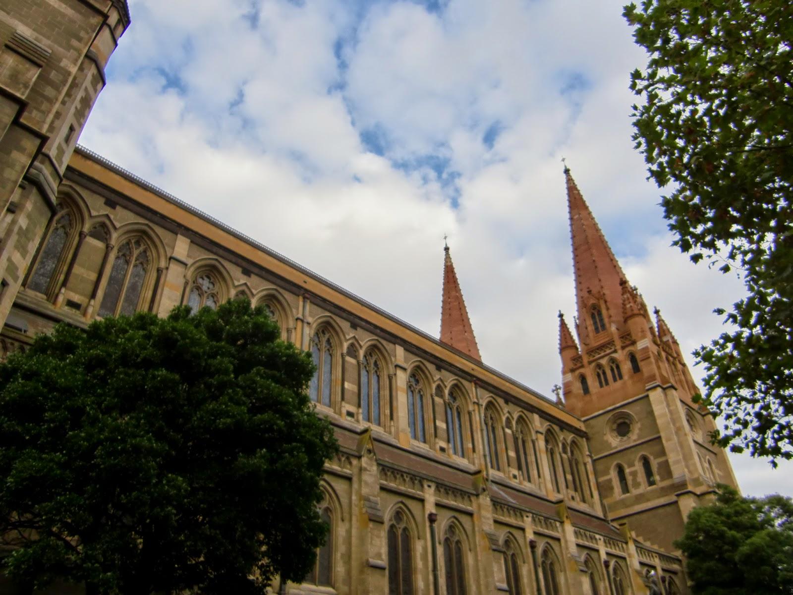 [澳洲工作假期系列] 聖保羅教堂 & 聯邦廣場 2