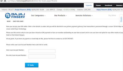 Bajaj Finserv Online Payment