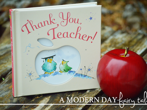 Simple Ways to Say 'Thank You, Teacher!': A Gift Book Review