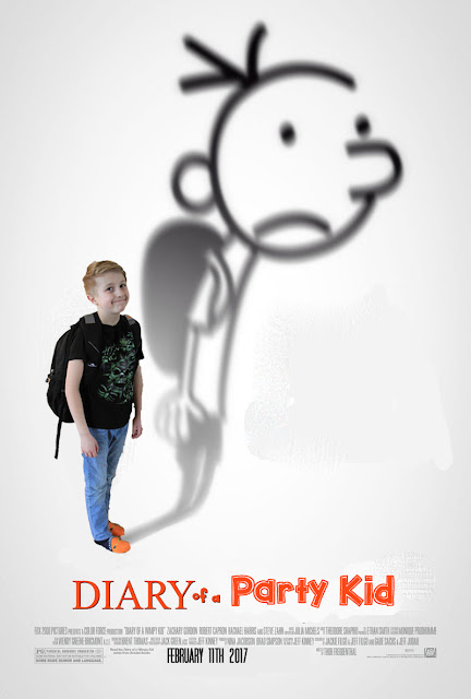 i do on a dime  free template diary of a wimpy kid birthday invitation  u0026 party ideas