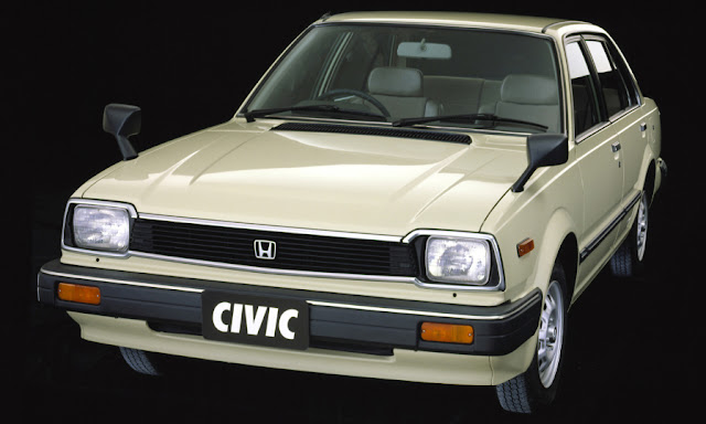 1981 Honda Civic Sedan CF JP-spec - Beige