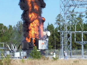 Fire Breaks Out In Kotugoda CEB Substation - Another transformer catches fire