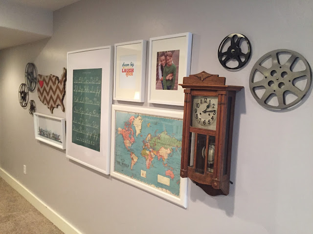 How to Create a Gallery Art Wall with Jen Gallacher from www.jengallacher.com. #gallerywall #galleryart #gridwall #photographywall