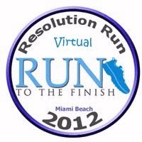 Resolution Run 5 km - Virtual