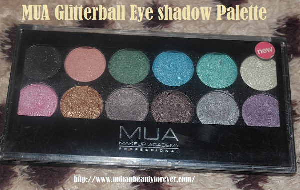 MUA Eyeshadow Palette swatches