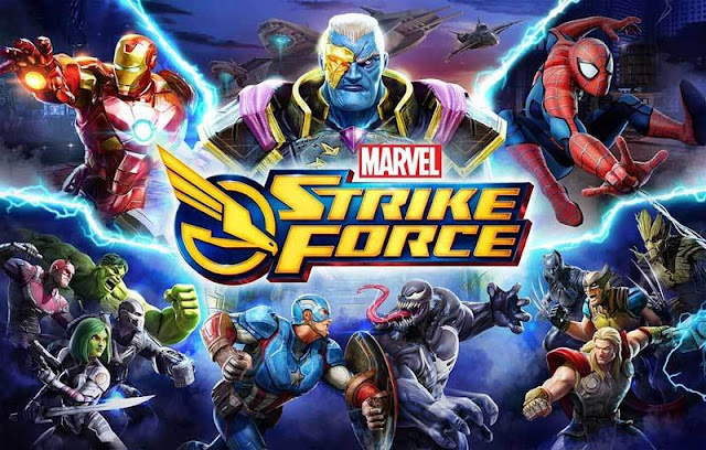 MARVEL Strike Force 2.2.1 Apk Mod + Unlimited Energy For Android