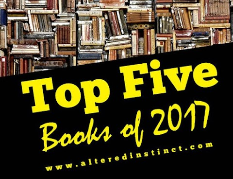 My Horror Collection - One Of Altered Instinct's Top Five Books Of 2017