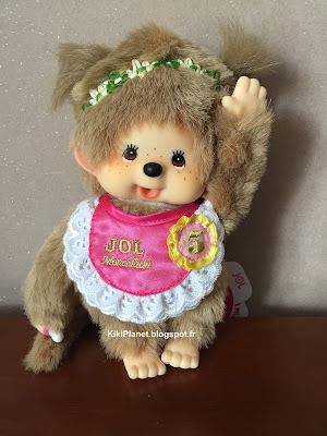 la Meruchhichi beige  Jol X 5th anniversary  référence 258280 kiki toys vintage bebichhichi jouet
