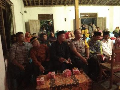 Tokoh masyarakat serta Babinkamtibmas Desa Merdikorejo di TKA Lentera