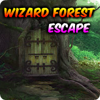 AVMGames Wizard Forest Escape