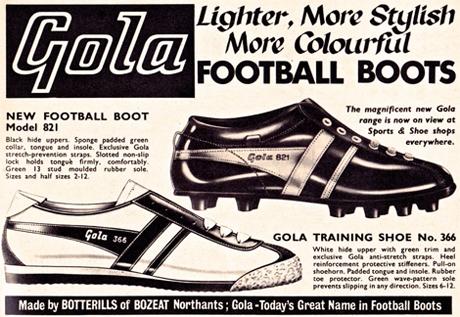 ... a GOLA passou a fabricar também botas para o exército britânico. Após o  fim do conflito mundial 2062248821072
