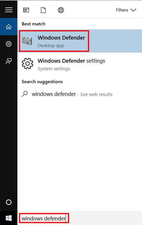 cara cepat mematikan windows defender di windows 10