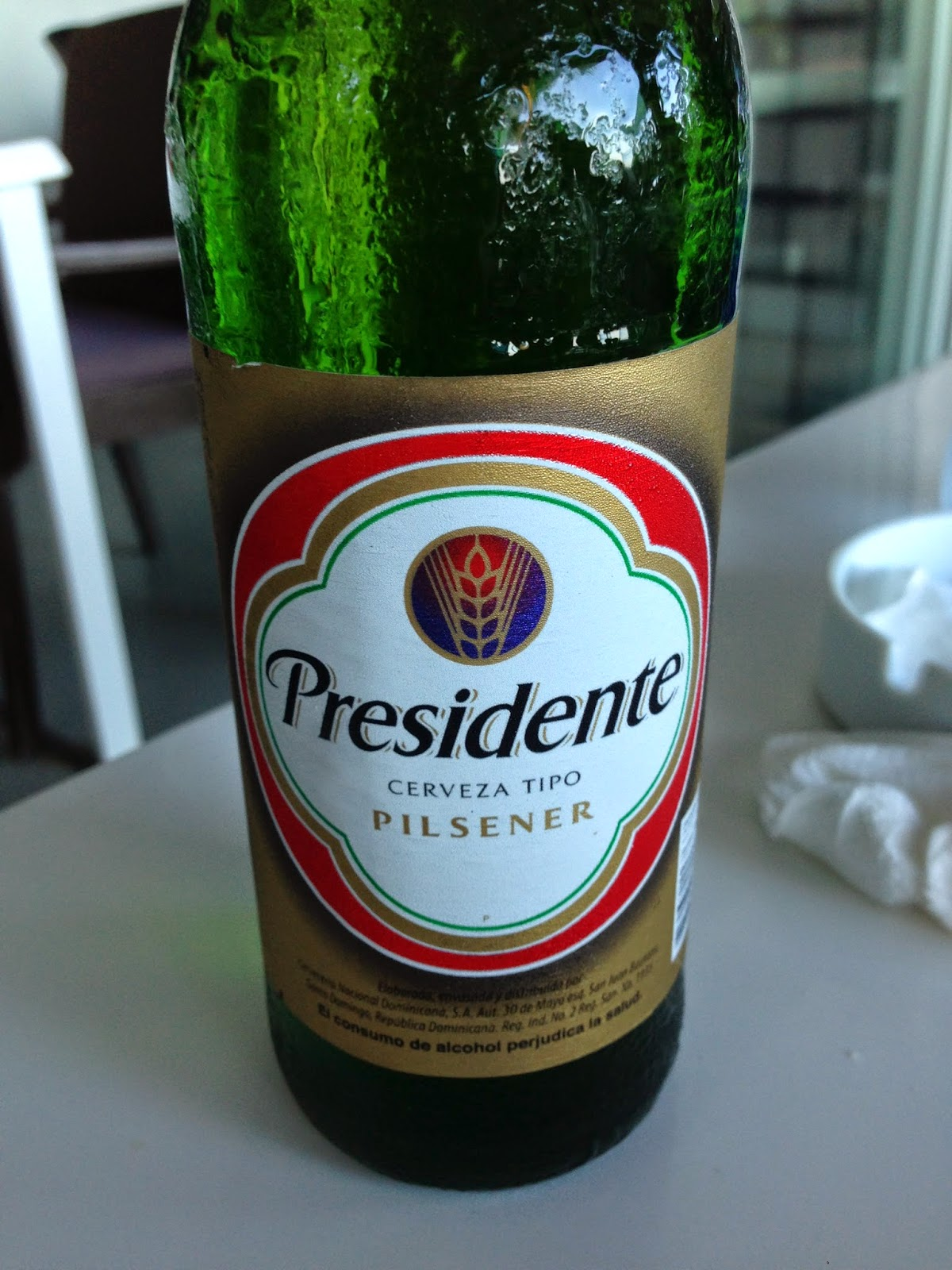 Presidente Beer in the Dominican Republic Undressed