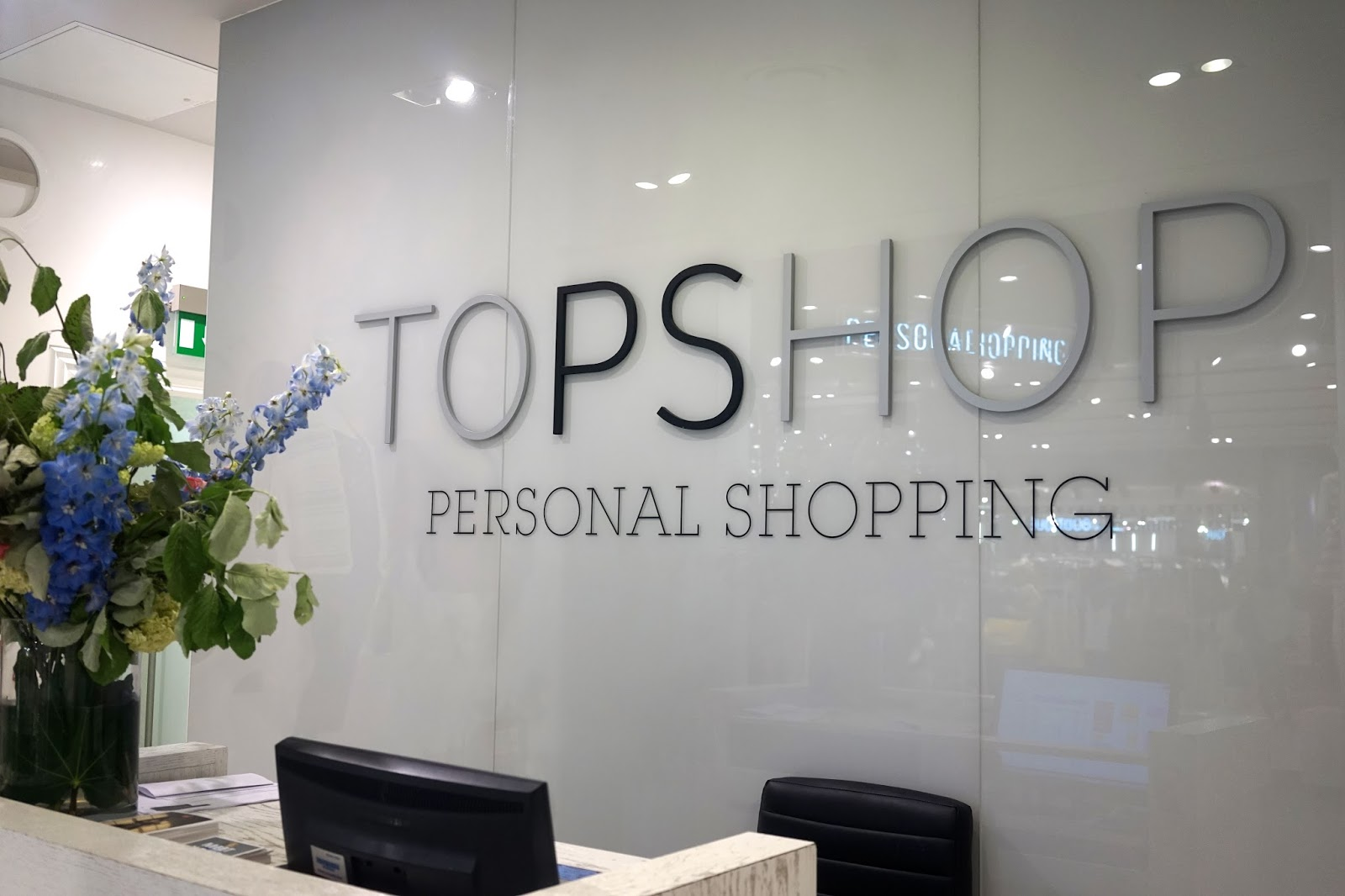 personal shopping topshop