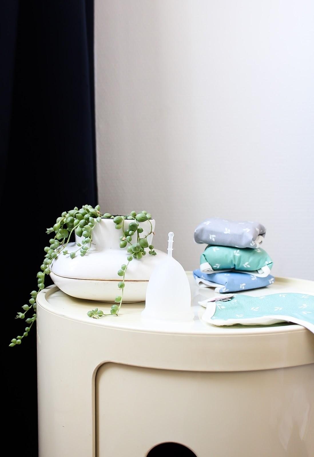 règles alternatives saines zero dechet tampons serviettes hygiéniques lavables cup
