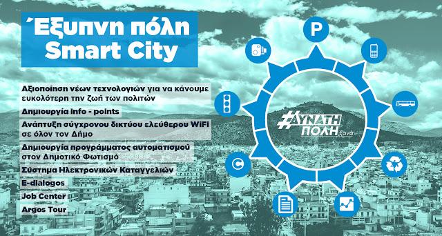 """""""Δυνατή Πόλη Ξανά"""": Αξιοποίηση νέων τεχνολογιών για να κάνουμε ευκολότερη την ζωή των πολιτών"""