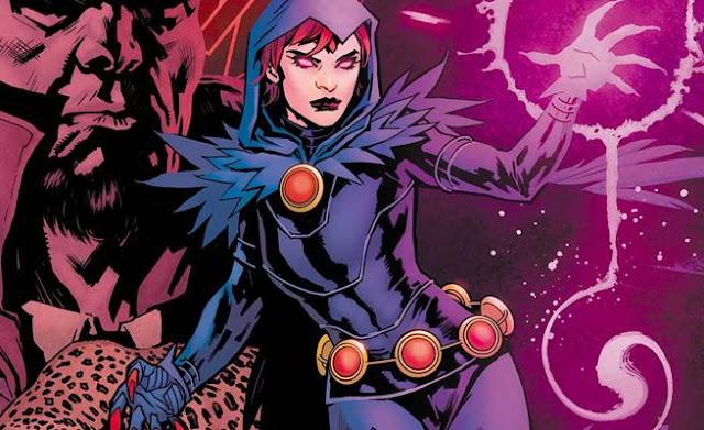 asal usul raven dan kekuatan raven dc comics