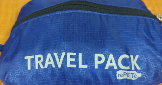 ChicoBag Resuable Travel Pack (RePETe)