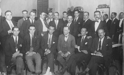 Equipo del Club Ajedrez Ruy López de Barcelona en 1926