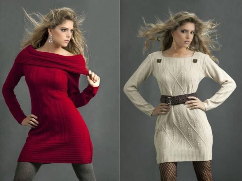 modelos de vestidos de lã para festas - dicas e fotos