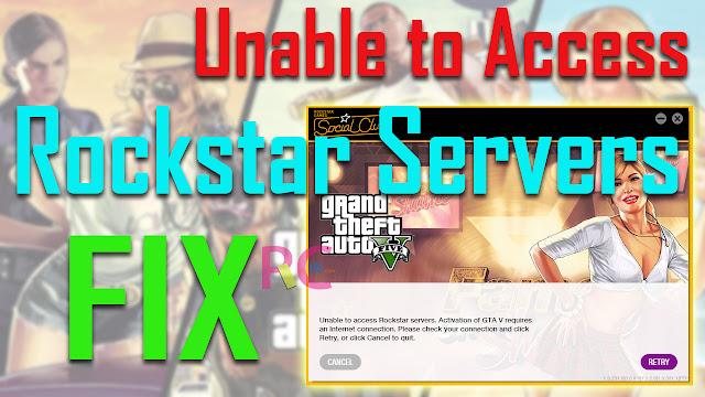2 Cara Ampuh Memperbaiki Error Unable to Access Rockstar Servers pada Game GTA V Steam: Silahkan Pilih!