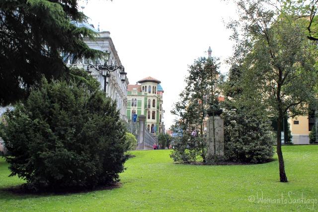 foto del parque san francisco oviedo