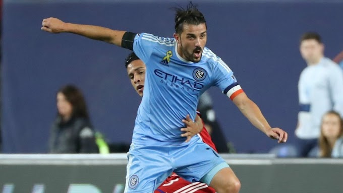 Check out what David Villa Said about Lampard,Pirlo and Messi