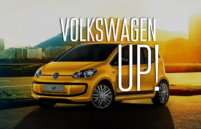 Volkswagen Up! yellow color Hd Pictures