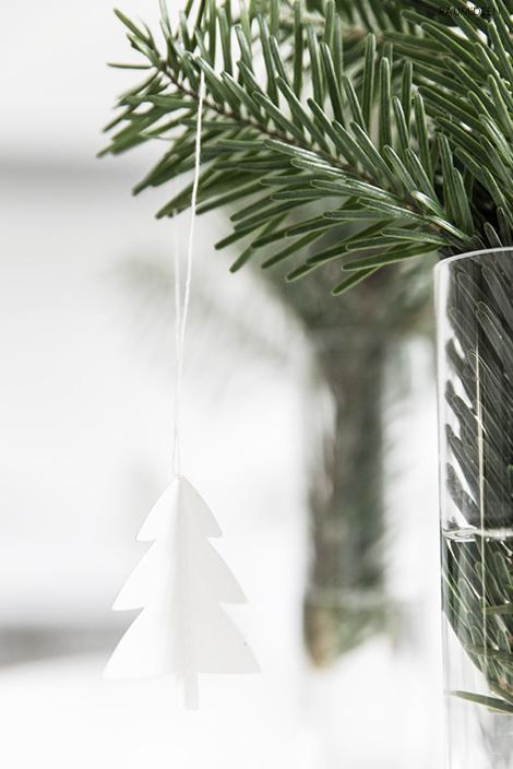 Tannenbaumanhänger zum Selbermachen