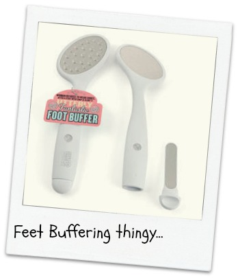 Soap and Glory Foot Buffer