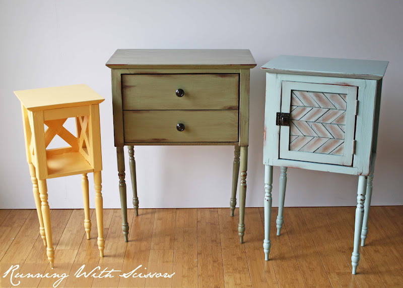 Running With Scissors Cottage Side Tables