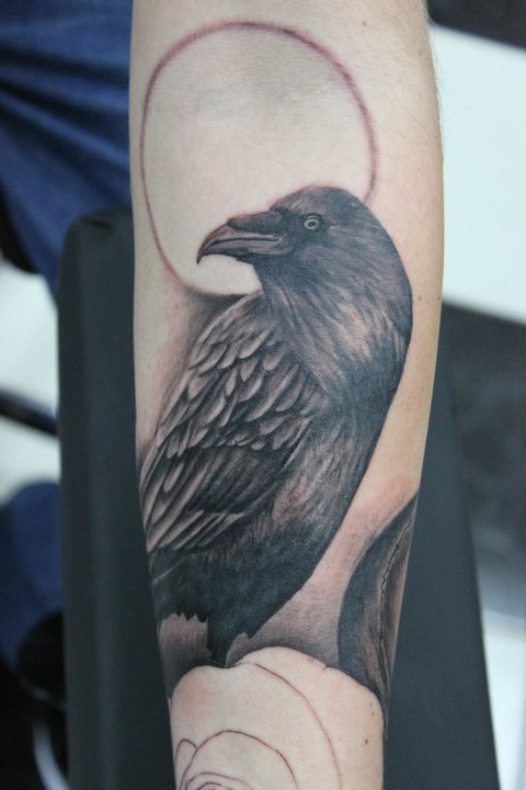 Best Tattoos For Men Crow Tattoo Meaning