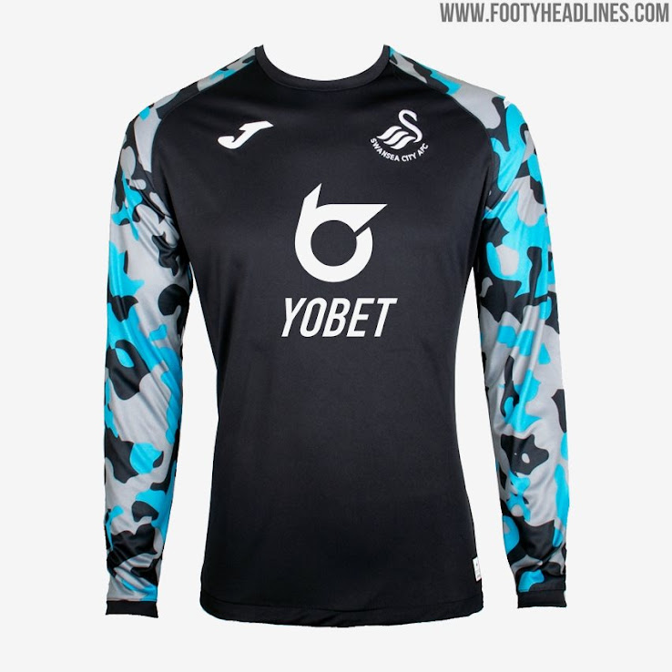 buy online 0f4e0 a9136 Swansea 19-20 Home, Away & Goalkeeper Kits Released - Footy ...