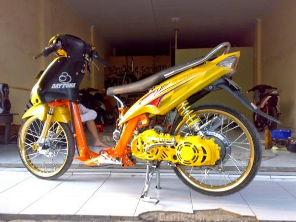 modifikasi motor mio sporty 2009 2 terkeren