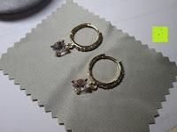 liegend: Fashmond Creolen Ohrschmuck aus Legierung Gemischte Metalle Für Jeden Anlass