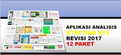 Aplikasi Analisis Ulangan Harian K13 dan KTSP