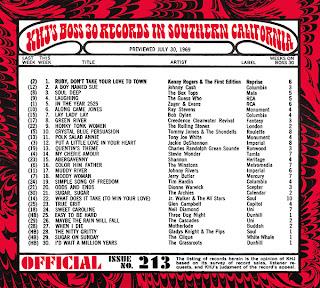 KHJ Boss 30 No. 213 - July 30, 1969