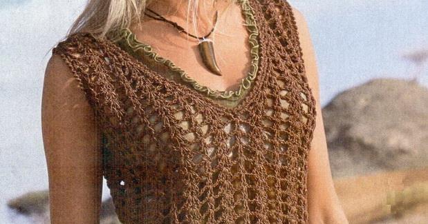 Crochet Sweaters: Crochet Tunic Dress For Women - Free Pattern